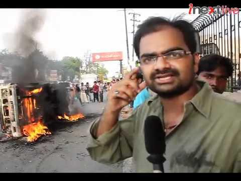 Patna burns during Ranvir Sena chief's funeral