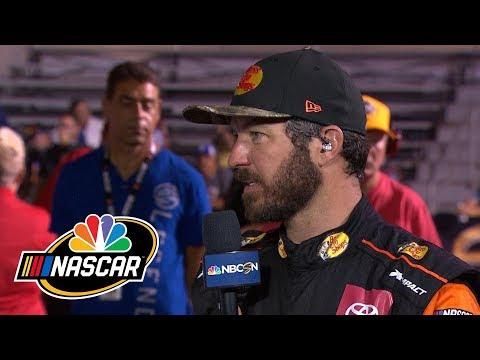 Martin Truex Jr. analyzes playoff win at Las Vegas | Motorsports on NBC