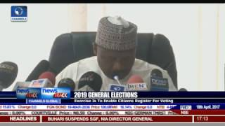 2019 General Elections: INEC To Commence Continuous Voters Registration