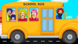 Las Ruedas del Autobús - canciones infantiles con Max