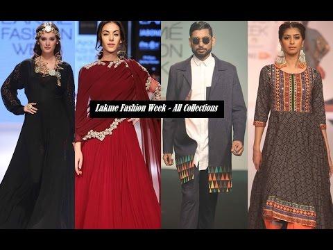 Lakme Fashion Week 2015-2016 India - Runway Highlights
