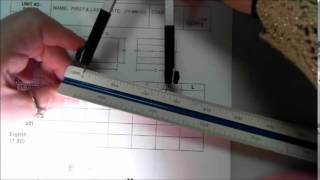 How to read an Metric Scale