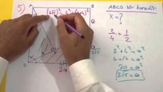 Benzerlik Soru Çözümü Şenol Hoca Matematik