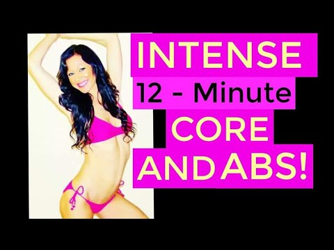 12 MINUTE FAT BURNING HIIT WORKOUT!!