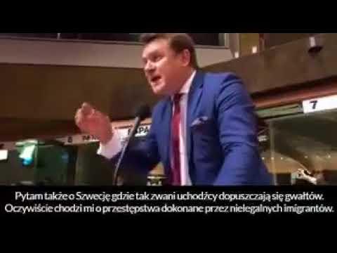 Polski poseł pozamiatał towarzystwo! Szczególnie zszokowani byli Niemcy