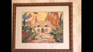ディズニー映画「ふしぎの国のアリス」に登場するキャラクターをテーマにし てデザインされた客室で、白うさぎとの出会いからはじまる冒険の...