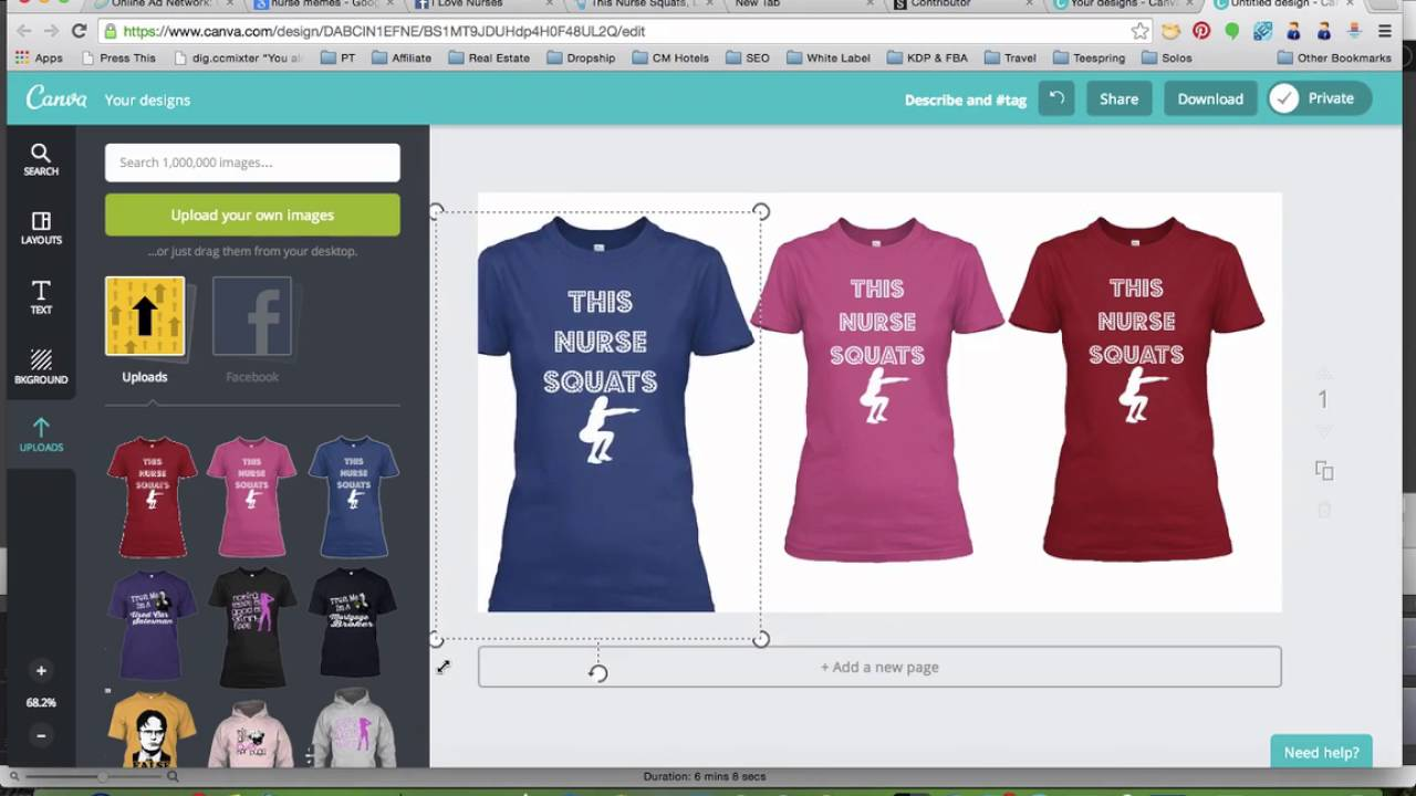 db7ba3058 16 Creating An Ad With Canva - YouTube