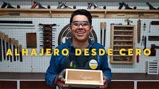 HAZ UN ALHAJERO DE MADERA DESDE CERO! | CLUB DEL CARPINTERO LOS REYES