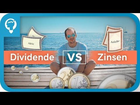 Dividenden Vs  Zinsen - Die wichtigsten Unterschiede erklärt