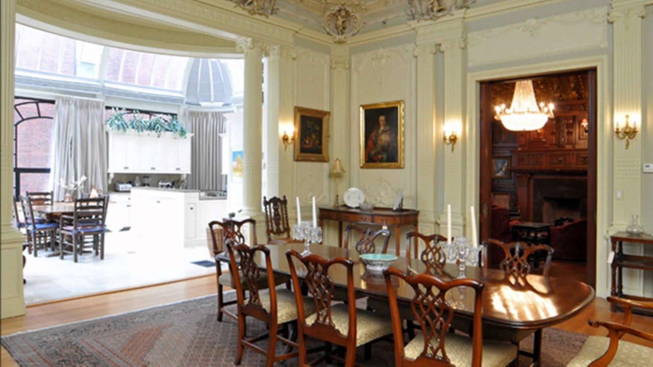 The Historic Burrage House Boston Back Bay Real Estate