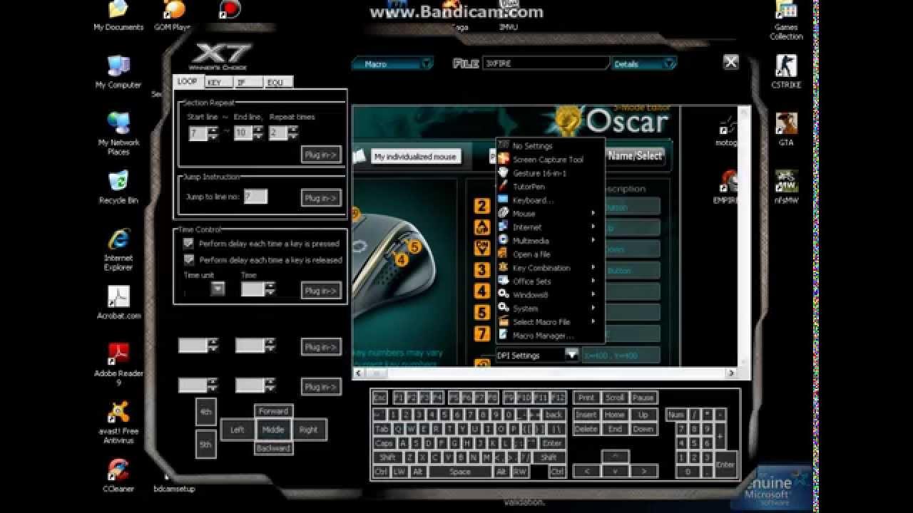 Cara setting Macro X7 Key7 scrip SGP,spash,P90,Awp