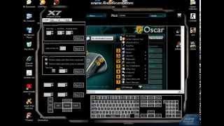 Repeat youtube video Cara setting Macro X7 Key7 scrip SGP,spash,P90,Awp  (Lengkap)
