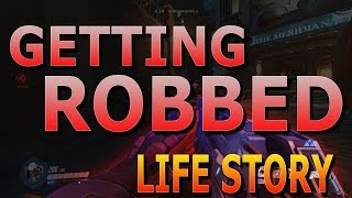 How to not get Robbed | Life Story (Overwatch Soldier 76 & Genji Gameplay)