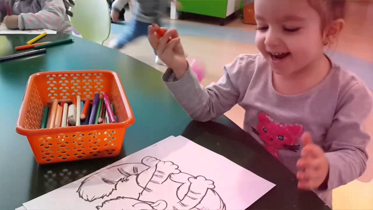 Sinirli Boyama Montessori Etkinlikleri