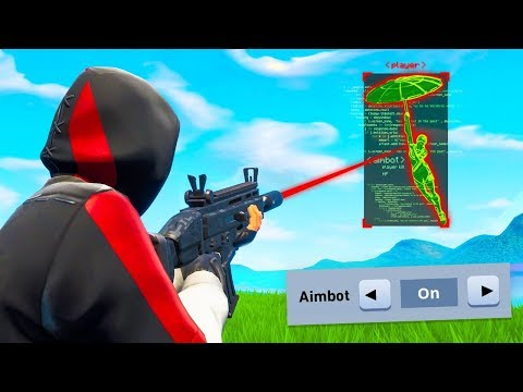 Using OFFICIAL AIMBOT In Fortnite
