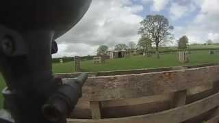 Battlelands paintballing, Gopro (Hereford)