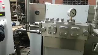 гомогенизатор молока А1- ОГ2М модернизация МЗПО ВторМолМаш дооснащение частотником