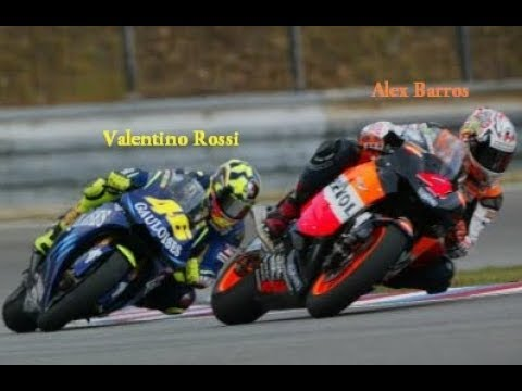 Best Battle Valentino Rossi vs Alex Barros MotoGP Sepang 2004