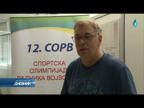 Dvanaesta sportska olimpijada radnika Vojvodine