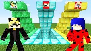 MİNECRAFT LEGO VE KiCK The BUDDY DÜNYASI. Çizgi film yeni oyun