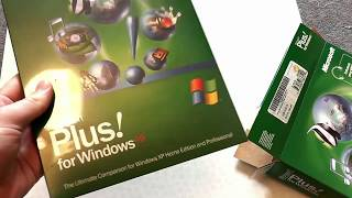 Windows XP and Plus! Unboxing