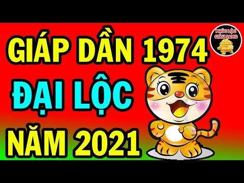 Vận Mệnh Tuổi GIÁP DẦN 1974 Năm 2021- TIỀN RƠI VỠ ĐẦU, NGỒI ĐẾM TIỀN CHAI TAY