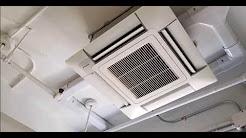 Daikin VRV IV Ductless Air conditioning on Window installation