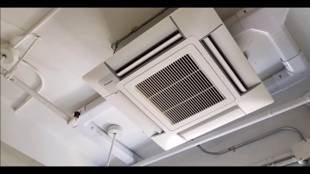 2 Ton Air Conditioner >> Daikin VRV IV Ductless Air conditioning on Window installation - YouTube