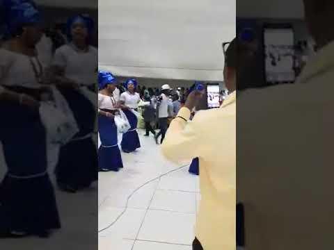 Mbaise women dance group Maputo, Mozambique.