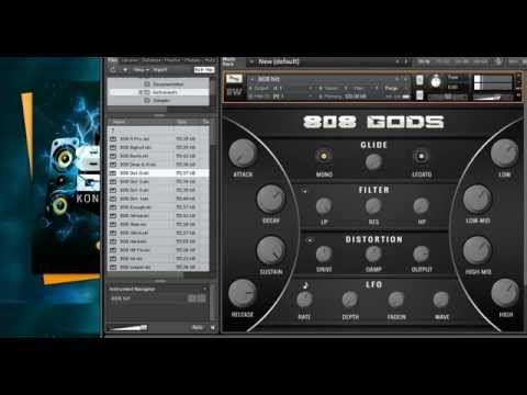808 GODS | Kontakt  Virtual Studio Technology | BigWerks
