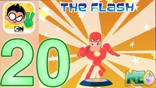 Teen Titans Go! Figure: Gameplay Walkthrough Part 20 - I Got The Flash! (iOS, Android)