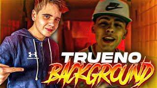 REACCIONO a Trueno - BACKGROUND (Video Oficial)