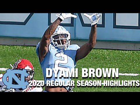 Dyami Brown 2020 Regular Season Highlights | North Carolina WR