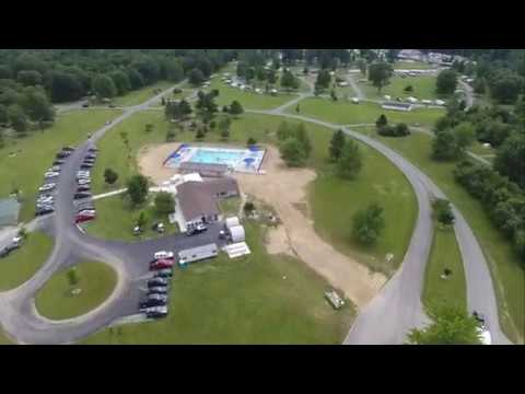 Indian lake state park opens new swimming pool youtube - Campgrounds in ohio with swimming pools ...
