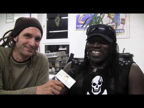 Interview: Mad Cobra @ ReggaeJam 8/1/2010