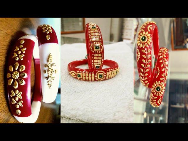 New Bengali gold Shakha Pola Bengal designs | latest Bengali jewellery design