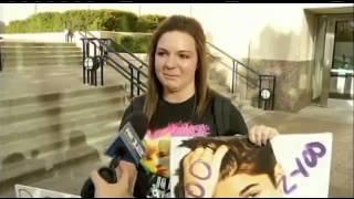 Justin Bieber meeting 11 year old megan