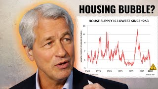 JP Morgan CEO Jamie Dimon Warns about a Bubble Forming in the Housing Market