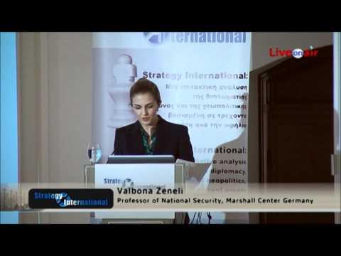 Valbona Zeneli Strategy International Security Conference Thessaloniki 2.wmv
