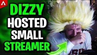 Small Streamer Cries Afтer Dizzy's Host - Apex Legends Highlights