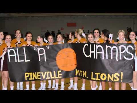 2015 -16 All A Regional PIneville HS vs Oneida Baptist Institute