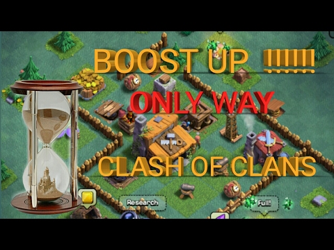 Boost up your all building, training (legal way ) in Clash of clans...😀😀👍👍