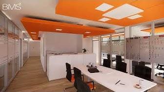 BMS² GmbH Design & Build: Architektur und Visualisierung 4.0 Lichtszenarien (Timelapse)