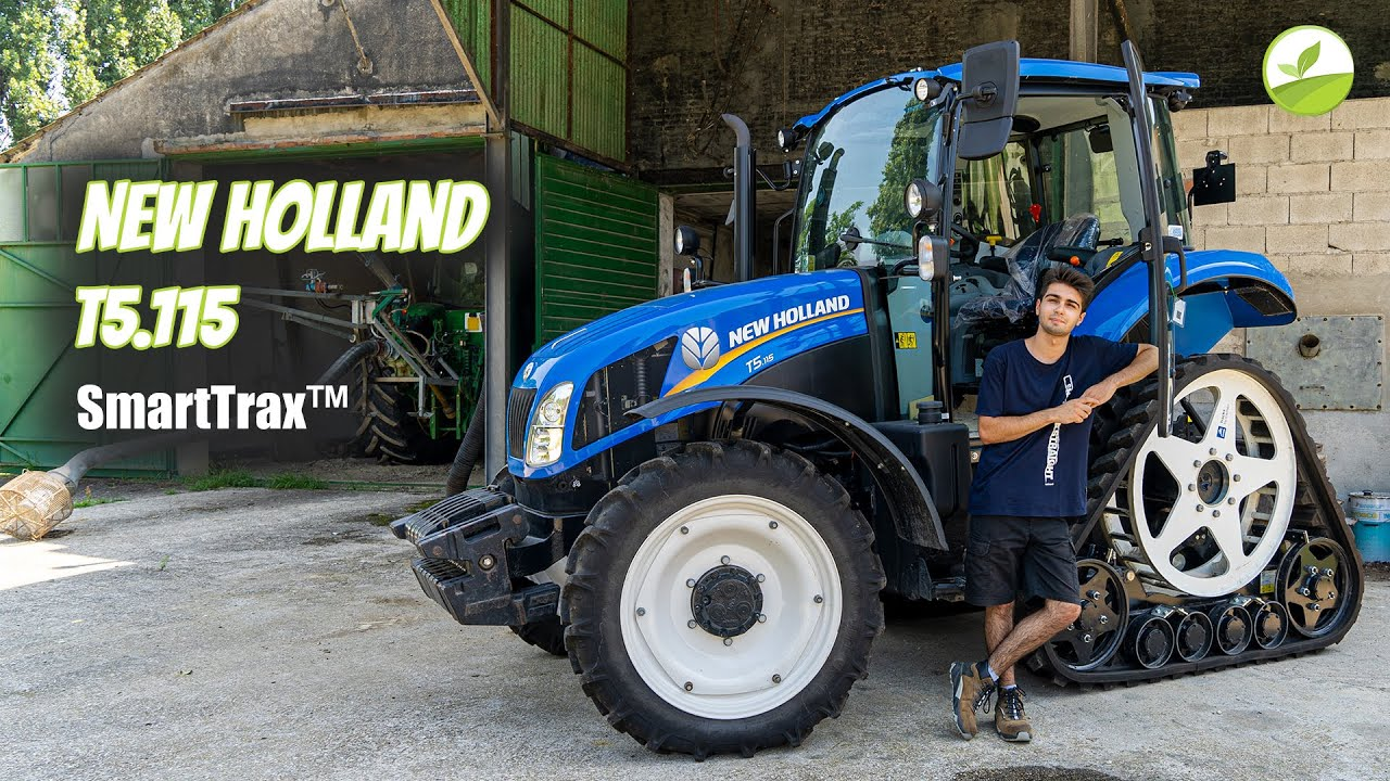 """IL """"MIO"""" NUOVO NEW HOLLAND T5 SmartTrax™!"""