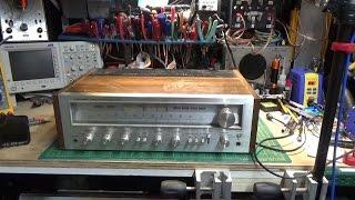 Pioneer SX 750 Repair & Restore - Part 1
