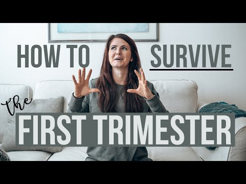 Pregnancy Tips & Must-Haves For Your First Trimester