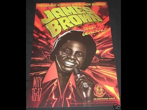 James Brown Revolution Show Preview