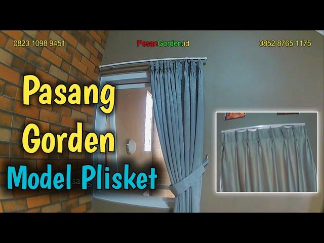 CARA PASANG GORDEN PLISKET KEMBANG 3 | PesanGorden.id