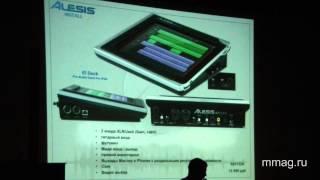 mmag.ru: Alesis install products video seminar