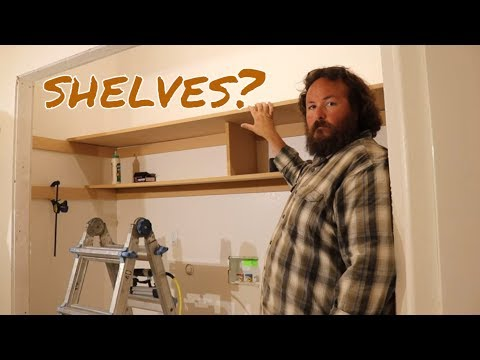 Woodworking Skills - How To Make Wall Shelves
